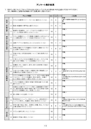 保護者アンケート(1)