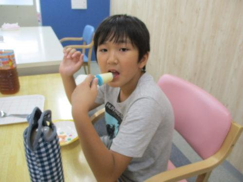 アイス作り  (4)