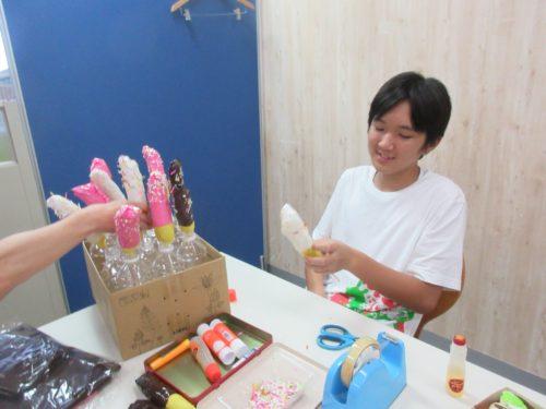 20190806_夏祭り工作(たこ焼き、チョコバナナ) (47)