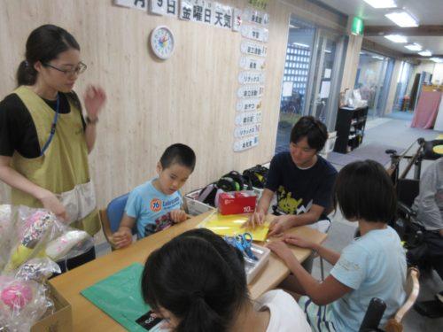 20190809_夏祭り工作(チョコバナナ箱) (8)